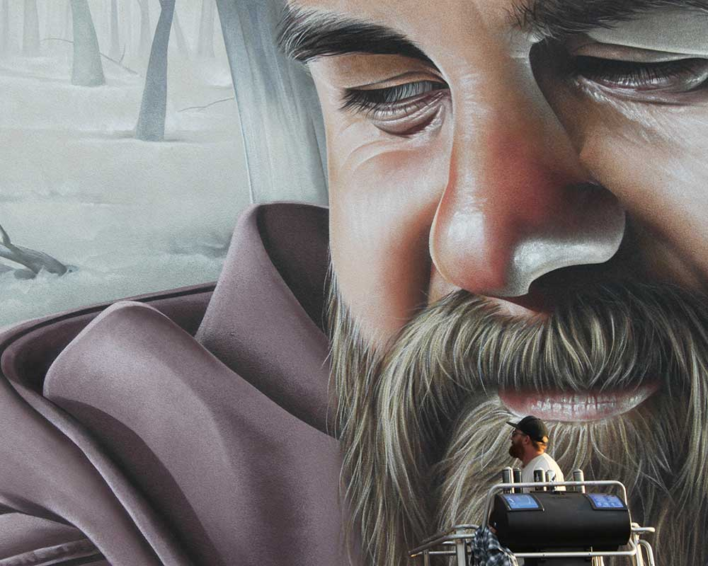 Smug one Berlin Mural Fest