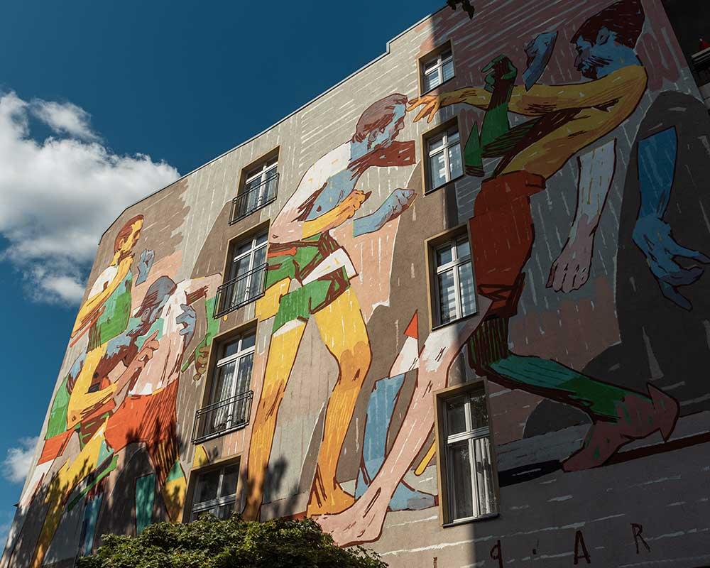 Berlin Mural Fest Friedrichstraße