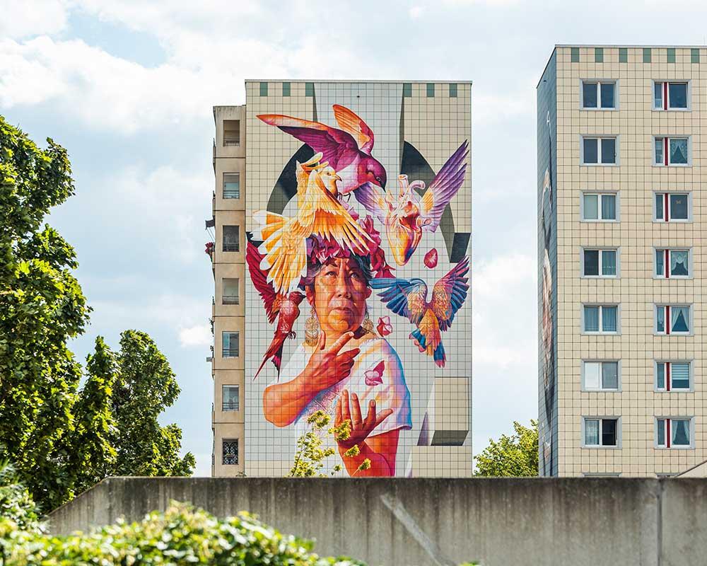 Smug Berlin Mural Fest 2019 Märkische Allee