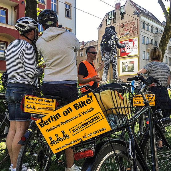 Berlin on Bike Berlin Mural Fest 2019